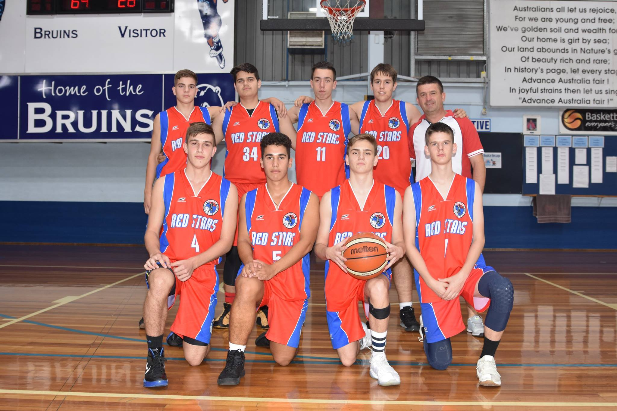 Red Stars Boys Team U18 Div1 CHAMPIONS