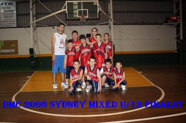 Red Stars Basketball Club DMC 2008 Sydney Under 12 Runners Up