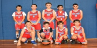 Red Stars Basketball Club Boys U/11 Div2 Champions for Bankstown Summer 2019/2020