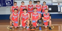 Red Stars Basketball Club Boys U/16 Div1 Runners up for Bankstown Summer 2019/2020