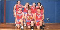Red Stars Basketball Club Girls U/16 Div2 Champions for Bankstown Summer 2019/2020