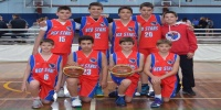 Red Stars Basketball Club Boys U/14 Div1 Champions for Bankstown Winter 2014