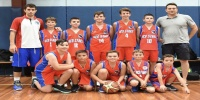Red Stars Basketball Club Draza Mihailovic Cup 2016 Sydney Boys U/12 Runners up