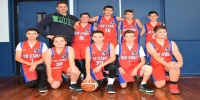 Red Stars Basketball Club Boys U/14 Div1 Runners up for Bankstown Winter 2018