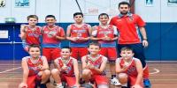 Red Stars Basketball Club Boys U/11 Div2 Champions for Bankstown Summer 2020/2021