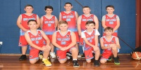 Red Stars Basketball Club Boys U/12 Div2 Runners up for Bankstown Winter 2019