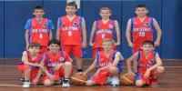 Red Stars Basketball Club Boys U/12 Div1 Runners up for Bankstown Winter 2014