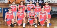 Red Stars Basketball Club Boys U/22 Div1 Champions for Bankstown Summer 2018/2019