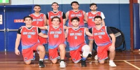Red Stars Basketball Club Boys U/22 Div1 Runners up for Bankstown Winter 2019