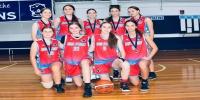Red Stars Basketball Club Girls U/16 Div1 Runners up for Bankstown Summer 2020/2021
