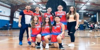 Red Stars Basketball Club Girls U/18 Div1 Champions for Bankstown Summer 2020/2021