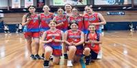 Red Stars Basketball Club Girls U/14 Div2 Champions for Bankstown Summer 2020/2021