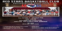 Red Stars Basketball Club Annual Trophy Presentation Night 2019