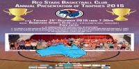 Red Stars Basketball Club Annual Presentation of Trophies 2015