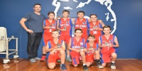 Red Stars Basketball Club Boys U/12 Div1 Champions for Bankstown Summer 2017/2018