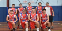 Red Stars Basketball Club Boys U/20 Div2 Runners up for Bankstown Summer 2017/2018