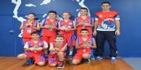 Red Stars Basketball Club Boys U/12 Div1 Champions for Bankstown Summer 2014/15
