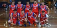 Red Stars Basketball Club Boys U/18 Div2 Champions for Bankstown Winter 2013