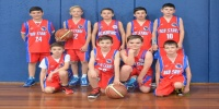 Red Stars Basketball Club Boys U/12 Div1 Runners up for Bankstown Winter 2015