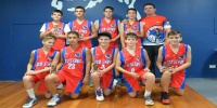 Red Stars Basketball Club Boys U/14 Div1 Champions for Bankstown Summer 2014/15