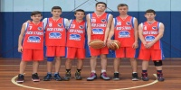 Red Stars Basketball Club Boys U/16 Div1 Runners up for Bankstown Winter 2015