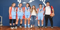 Red Stars Basketball Club Girls U/16 Div2 Runners up for Bankstown Summer 2017/2018