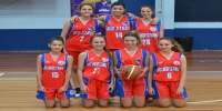 Red Stars Basketball Club Girls U/16 Div1 Champions for Bankstown Winter 2013