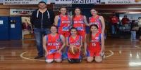 Red Stars Basketball Club Girls U/16 Div2 Champions for Bankstown Winter 2015