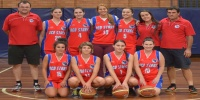 Red Stars Basketball Club Women Team Champions Div3 for Bankstown Summer 2013/14