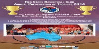 Red Stars Basketball Club Annual Presentation of Trophies 2014