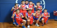 Red Stars Basketball Club Boys U/14 Div2 Champions for Bankstown Summer 2013/14