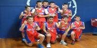 Red Stars Basketball Club Boys U/14 Div2 Champions for Bankstown Summer 2013/14