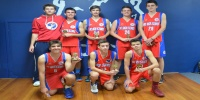 Red Stars Basketball Club Boys U/16 Div3 Champions for Bankstown Summer 2013/14