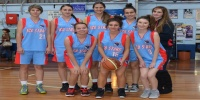 Red Stars Basketball Club Women's Under 20-22 Runners Up for Bankstown Winter 2013