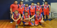 Red Stars Basketball Club Boys U/14 Div2 Runners Up for Bankstown Summer 2012/13