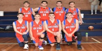 Red Stars Basketball Club Boys U/18 Div1 Champions for Bankstown Winter 2018