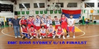 Red Stars Basketball Club DMC 2008 Sydney Boys Under 18 Runners Up