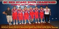 Basketball Club Red Stars Boys U/22 Div 2 Bankstown Champions for Summer 2009