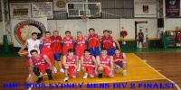 Red Stars Basketball Club DMC 2008 Sydney Men's Div 2 Runners Up