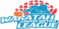 NSW Basketball Sydney Metro 2018 Junior/Senior Representative Trials