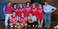 Red Stars Basketball Club Women's U/22 Champions for Bankstown Summer 2011