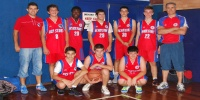 Red Stars Basketball Club Boys Under 16 Div 3 Bankstown Champions for Summer 2012