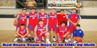 Red Stars Basketball Club DMC 2009 Melbourne Boys U/16 Runners Up
