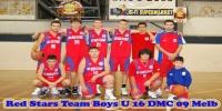 Red Stars Basketball Club DMC 2009 Melbourne Boys U/16 Runners Up