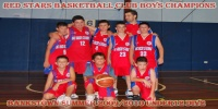 Red Stars Basketball Club Boys U/12 Div 2 Bankstown Champions for Summer 10'