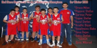 Red Stars Basketball Club Boys U/14 Div 2 Bankstown Champions for Winter 2010