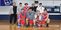 Red Stars Basketball Club Boys U/16 Div2 Runners up for Bankstown Winter 2020