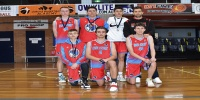 Red Stars Basketball Club Boys U/18 Div1 Runners up for Bankstown Winter 2020