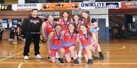 Red Stars Basketball Club Girls U/16 Div2 Runners up for Bankstown Winter 2020