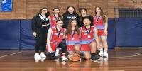 Red Stars Basketball Club Girls U/18 Div1 Runners up for Bankstown Winter 2020